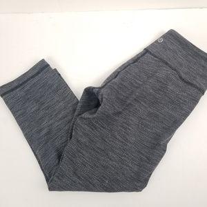 Lululemon Cropped Leggings 6 Women's Leggings Gray